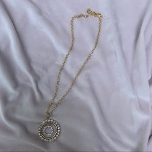 Gold Matinee Necklace